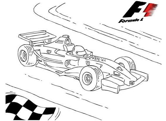F1 Formula 1 Race Cars Coloring Pictures Cars Coloring Pages Sports Coloring Pages Truck Coloring Pages