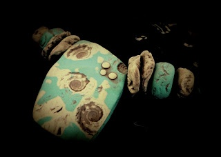 These pieces have a good time inspired    Polymer clay jewelry