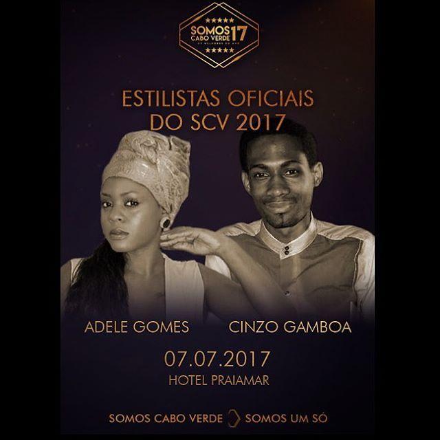 Nesta edição do Somos Cabo Verde, os estilistas Adele Gomes e Cinzo Gamboa,vão trabalhar em looks bem compostos para este grande evento.TRACE Toca A Paixão Da Musica! #tracetoca #apaixaodamusica #estilistas #moda #musica #somoscaboverde  @somoscaboverdeosmelhoresdoano