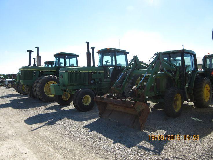 John Deere cab tractors r-l:6200,4850,8630,4850 MFWD