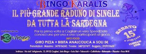 """E' questo lo slogan con cui è nato il movimento di tutti i """"SINGLE  DELLA SARDEGNA"""" che da anni organizza eventi in tutta la Sardegna.  Il prossimo cade a pennello e cioè sabato 15 febbraio (il giorno dopo San Valentino) organizzeremo il PIU' GRANDE RADUNO DEI SINGLE DELLA SARDEGNA con inizio alle 20:30.  #EventiSardegna"""