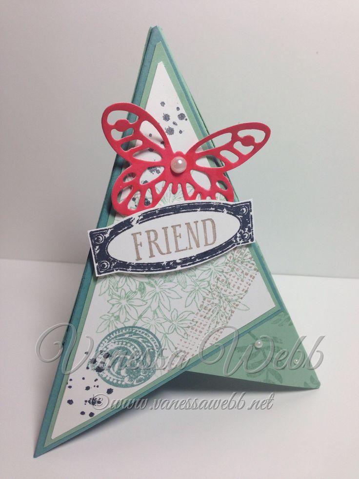 Февраля, открытка пирамида