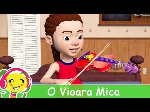 Cantece Gradinita - O Vioara Mica De-As Avea | Muzica Noua Romaneasca, Muzica Gratis, Versuri