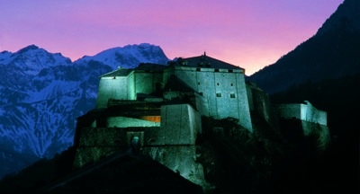 Exilles Fort in Piedmont, #Italy