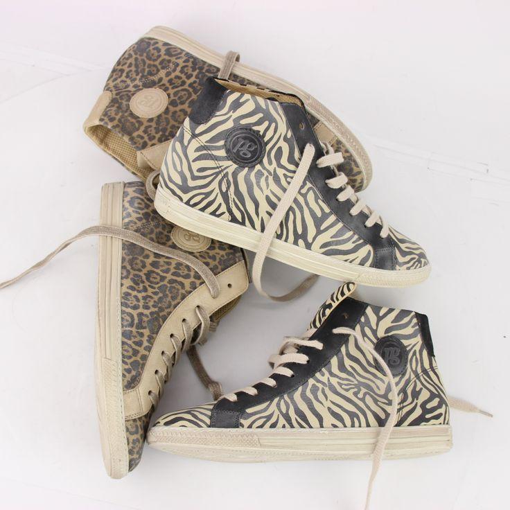 De zeer comfortabele sneakers van Paul Green zijn nu ook verkrijgbaar in leuke zebra en luipaard print. #zebraprint #luipaardprint