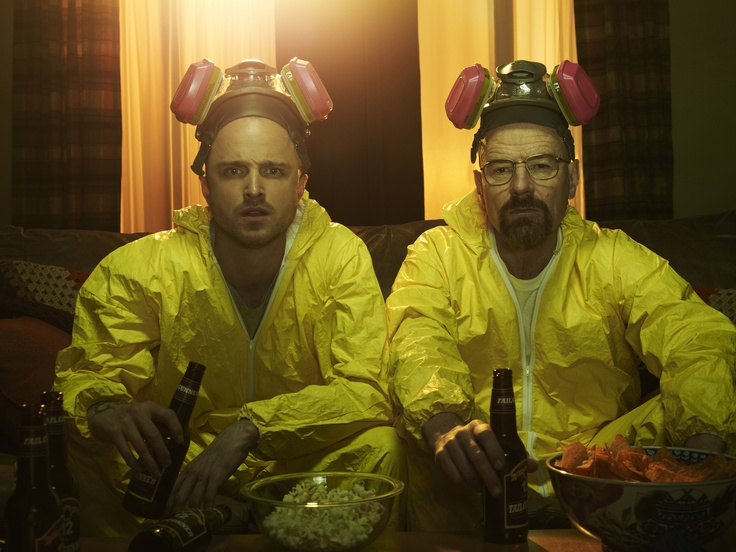 Jess and Walt get ready for Breaking Bad: The Final Season.