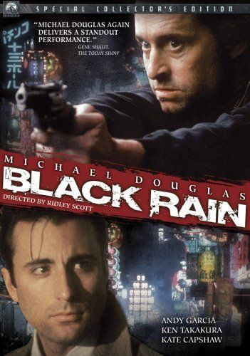 Directed by Ridley Scott. With Michael Douglas, Andy Garcia, Ken Takakura, Kate Capshaw. Two New York cops get involved in a gang war between members of the Yakuza, the Japanese Mafia. They arrest one of their killers and are ordered to escort him back to Japan. In Japan, however, he manages to escape. As they try to track him down, they get deeper and deeper into the Japanese Mafia scene and they have to learn that they can only win by playing the game the Japanese way.