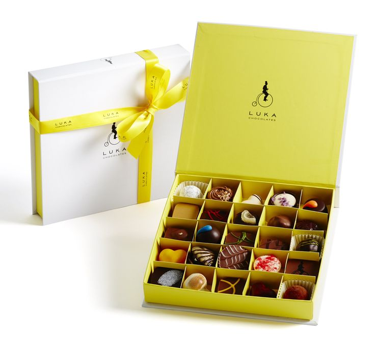 Our 25 piece Gift Box - the most popular choice. Just $49.95 http://shop.lukachocolate.com.au/