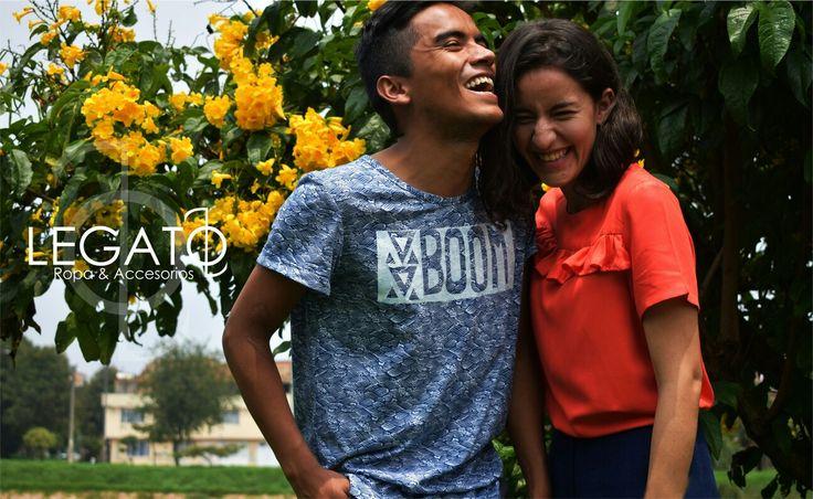 La felicidad nos inspira!!!  pocas unidades disponibles en nuestra nueva colección!!  #nuevacoleccion #newlook #print #happy #flowers #smile