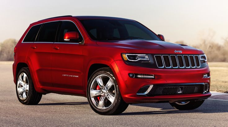 Red Jeep Grand Cherokee 2016 Wallpaper