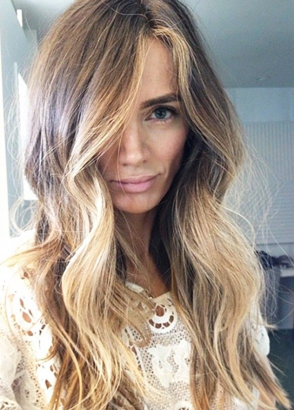 "Meet ""Lived-In"" Hair: The Latest Color Trend That Lasts 6 Months via @byrdiebeauty"