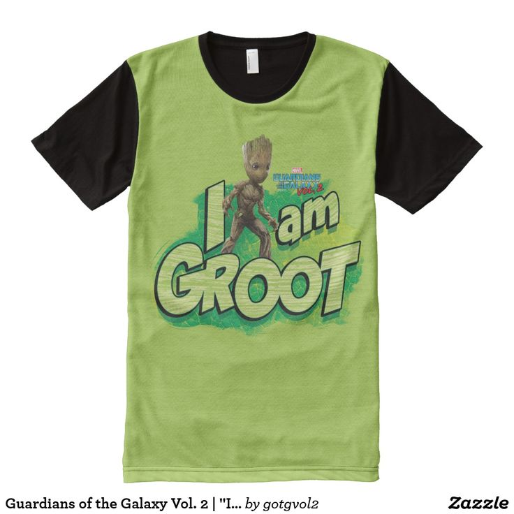"Guardians of the Galaxy Vol. 2 | ""I Am Groot"" Mini All-Over-Print T-Shirt"