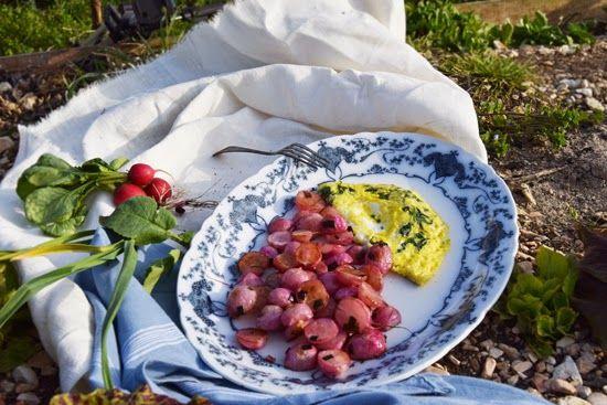 Foglie di ravanello (Feuilles de radis - Radish leaves)