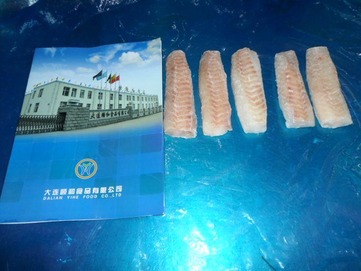 High quality frozen Alaska Pollock loin product from Dalian Yihe Co., Ltd.