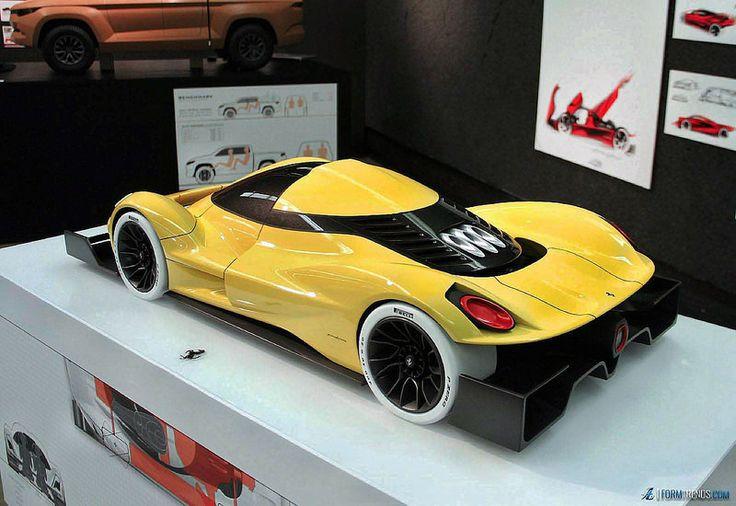 дизайн авто прототип проект альфа