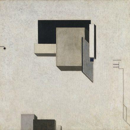 El Lissitzky, PROUN 1-C (1919)