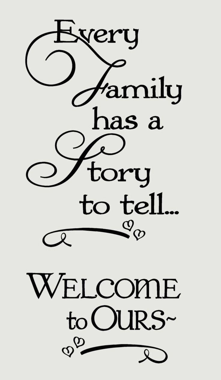 Family album title page idea