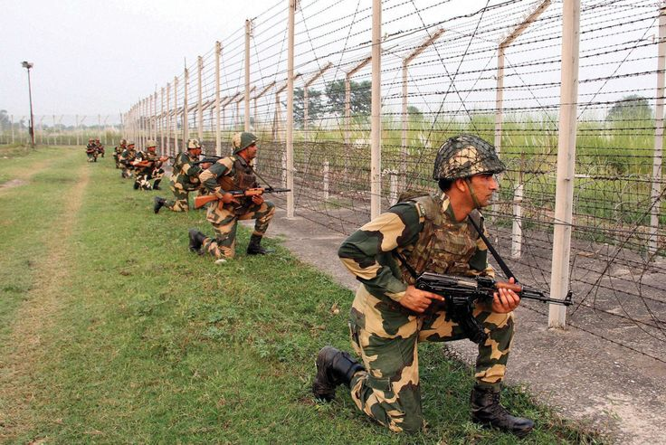 INDIAN ARMY STRIKES BACK BSF personnel keep tight vigil at the India and Pakistan International Border at Gakhrial of Akhnoor sector about 55 km from Jammu, Oct. 1. (Press Trust of India)    It took lightening swiftness of a handful of army-men to conduct 'surgical strikes' beyond the Line of Control in Pakistan-occupied Kashmir to inflict http://siliconeer.com/current/indian-army-strikes-back/