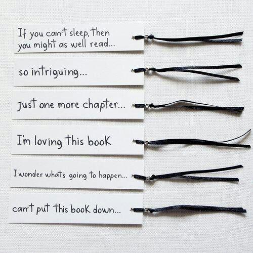 Bookmark set of 6