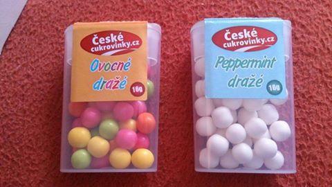 nové bonbonky pro děti