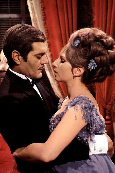 "Omar Sharif and Barbara Streisand in ""Funny Girl"" (1968) Barbra Streisand - Best Actress Oscar 1968"