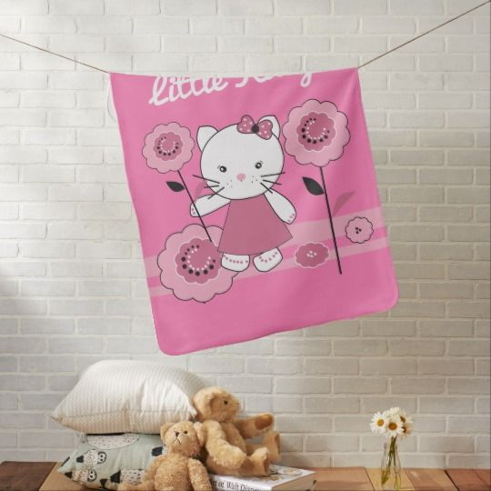 Маленькая пуховая одеяло Kitty