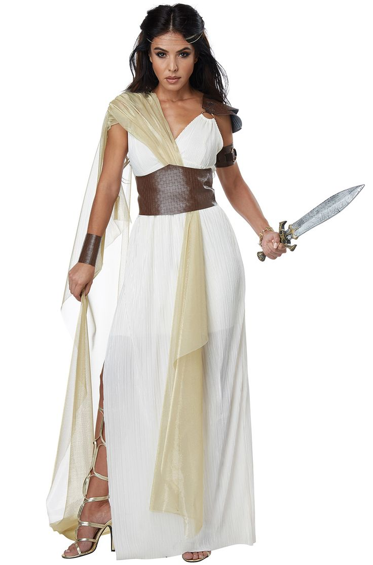 If you're looking to transform into a warrior queen, why not dress as Gorgo, Queen of Sparta. Known for being a daughter of a king of Sparta as well as being the wife to King Leonidas I, she's fierce and glamourous at the same time.