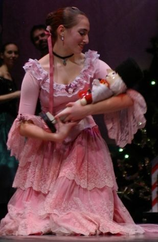 Lindsey Lavin as Clara in Dance Prism's THE NUTCRACKER - Tickets for our 2012 tour are on sale NOW - Visit www.danceprism.com for more info