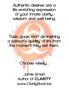 Toxic Goals and Authentic Desires