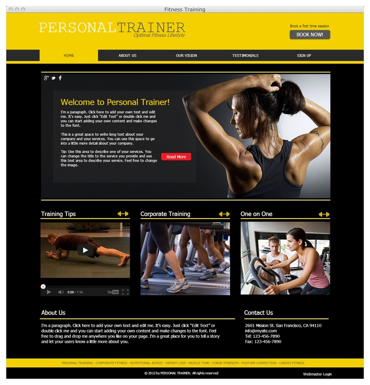 dating sites for personal trainers The best personal trainers reveal their secrets to men's health.