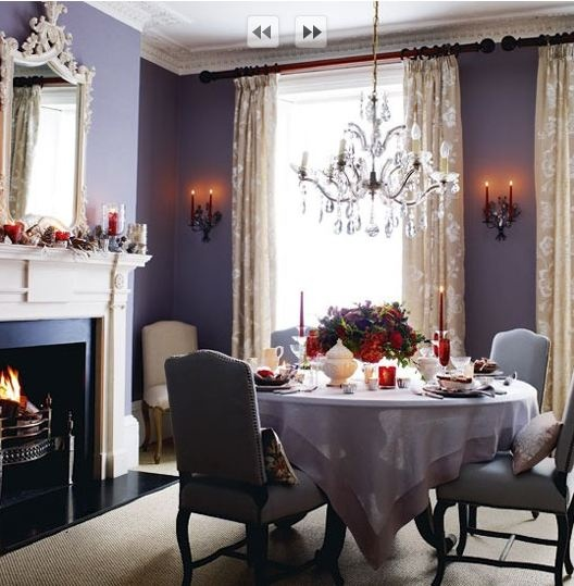 25 Elegant And Exquisite Gray Dining Room Ideas: 25+ Best Ideas About Purple Dining Rooms On Pinterest