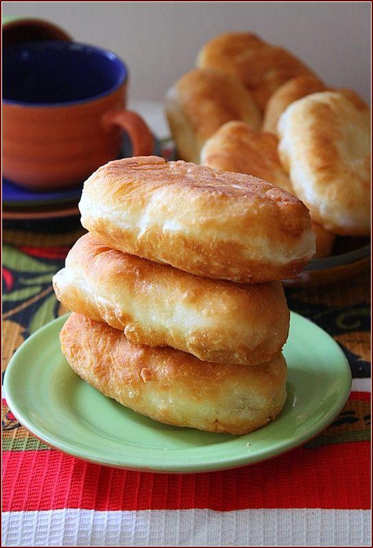 Пирожки с картофелем луком и пармезаном