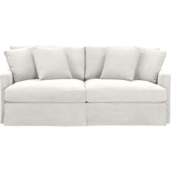 Beautiful Lounge 83 Sofa In Sofas | Crate And Barrel $1,899