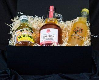 scrumpy cider gift set
