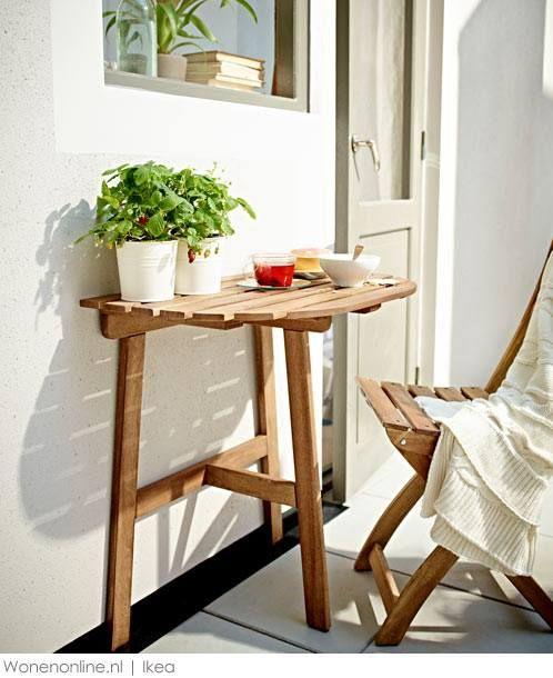Vier de zomer met IKEA Mobili da balcone, Balconi