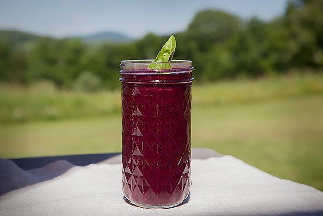 Anti-Aging Blueberry Detox Smoothie