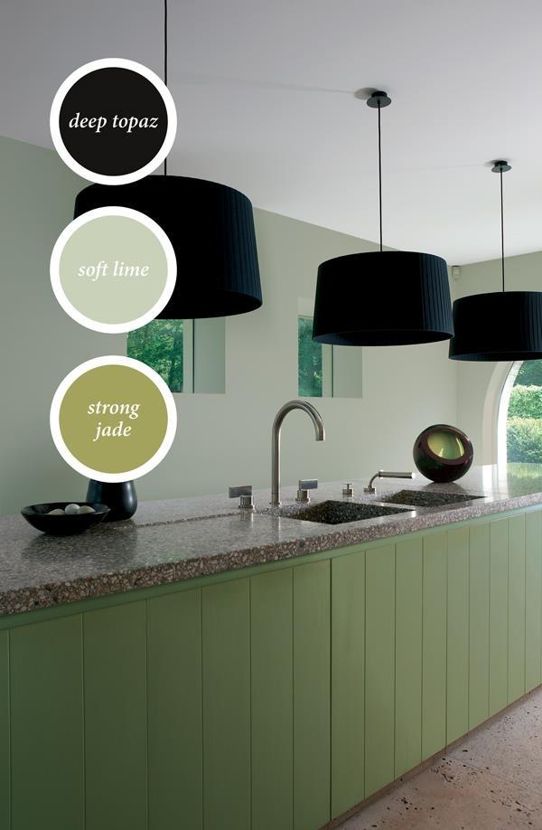 25 beste idee n over blauwe keuken verf op pinterest keuken verf schema speelkamerverf en - Verf keuken lichtgrijs ...