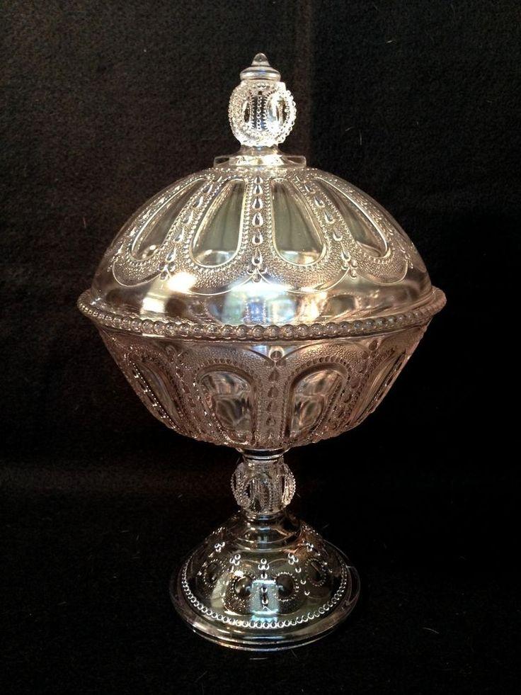 vintage eapg pressed glass wisconsin beaded dewdrop. Black Bedroom Furniture Sets. Home Design Ideas