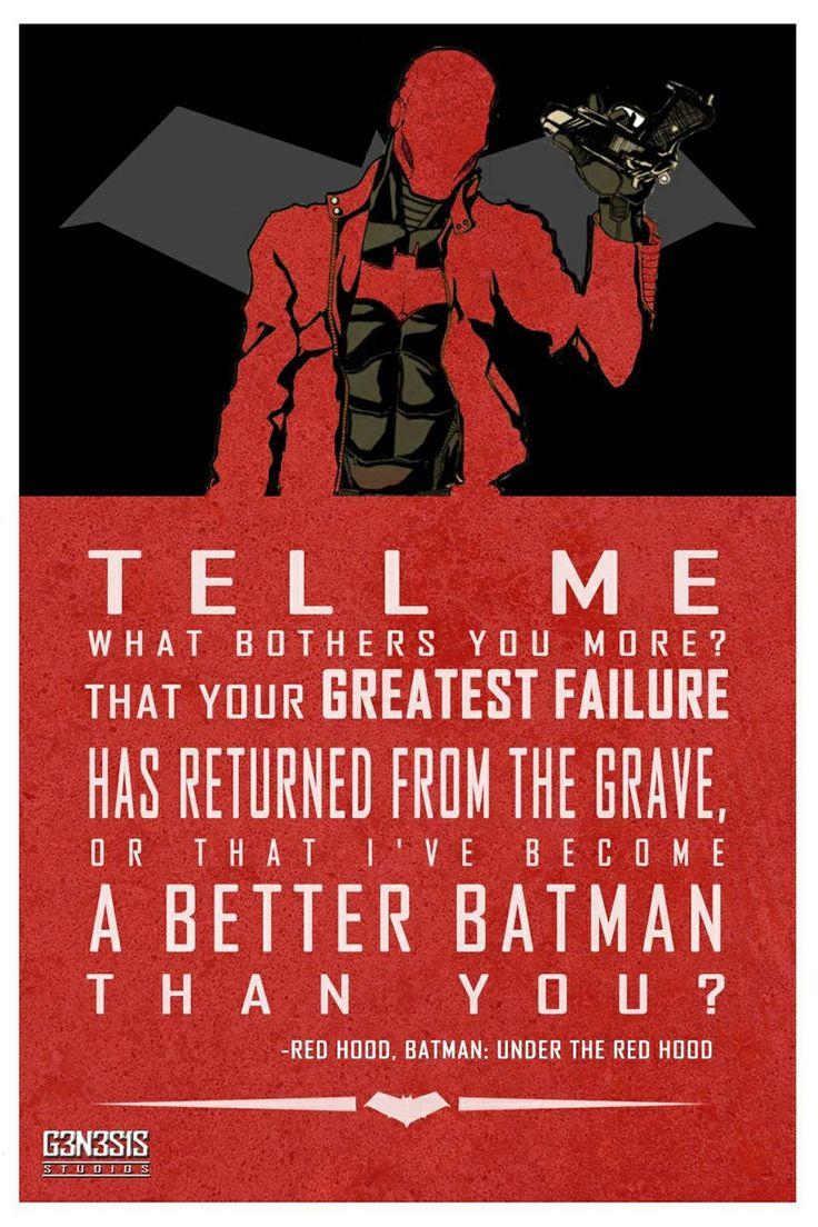 A better batman than you...