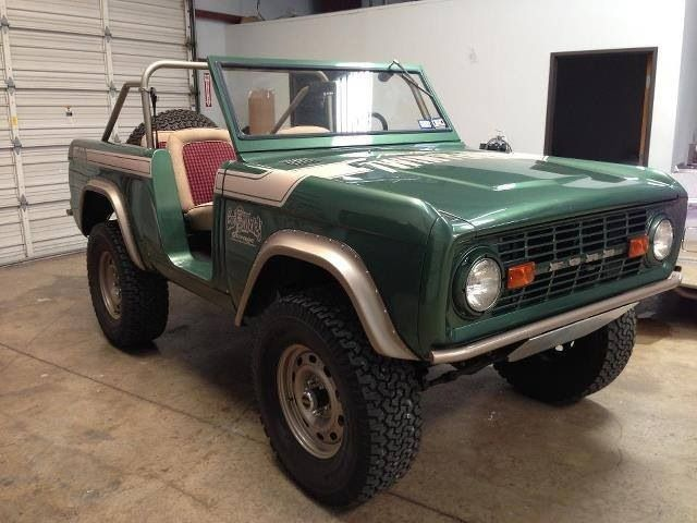 Fast n loud 39 s ford bronco go gas monkey sweet rides for Garage ford savoie