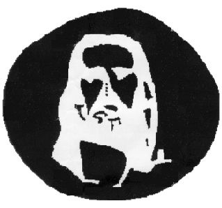 Now it's time to see Jesus. Stare at the four black dots for 30 seconds, then close your eyes and look at something bright.   Can You Make It Through This Post Without Your Brain Melting?