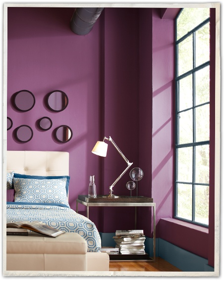Martha Stewart Plum Wine paint color  Paints  Pinterest