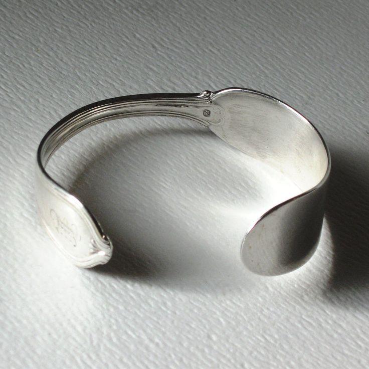 Silverware Jewelry: Knife Bracelet