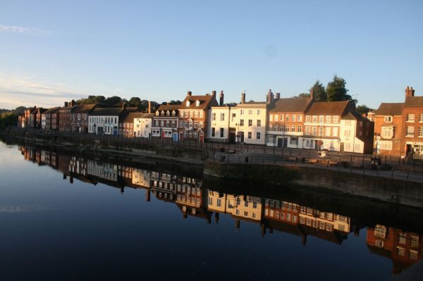The historic riverside town of Bewdley Worcestershire