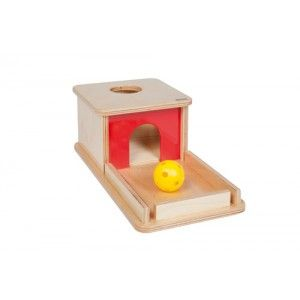 Object Permanence Box With Tray - Infant Toddler - Nienhuis Montessori - Catalogue