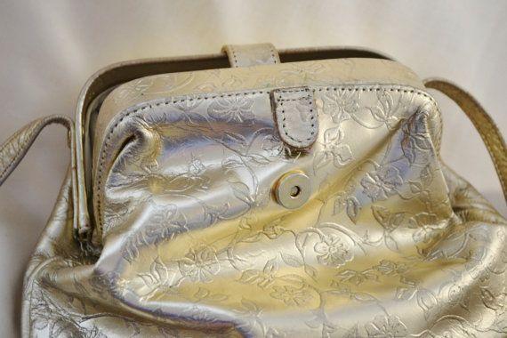 Purse Vintage Boho Festival Paris Chic Gold Wedding Bag