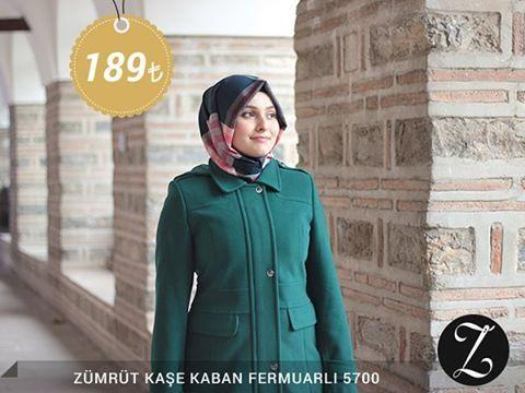 Zümrüt Kaşe Kaban Fermuarlı 5700 Fiyat, soru ve siparişleriniz için bizi arayabilir veya Whatsapp üzerinden iletişime geçebilirsiniz : 0 545 675 16 16 #moda #kaban #manto #sonbahar #pardesü #hijab #tesettür #kapalıgiyim #tesettürgiyim #fashion #hijabfashion #trend #kombin #kaşe #tesettürmoda #deri #style #stil #bursa #çarşı #yenisezon #tesettürtrend #türban #tunik #eşarp #başörtüsü #kampanya #indirim #fallwinter #ferace