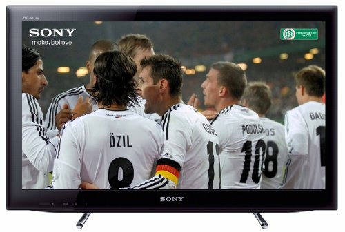 Sony KDL22EX555 55 cm (22 Zoll) LED-Backlight-Fernseher, Energieeffizienzklasse B (HD-Ready, 50Hz, DVB-T/C/S2, Internet TV) schwarz
