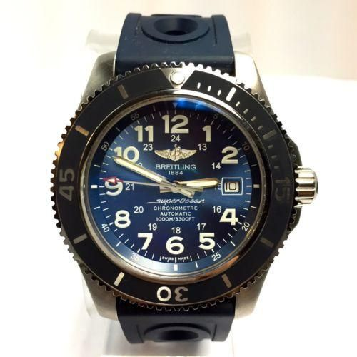 46mm BREITLING 1884 SUPEROCEAN CHRONOMETER Automatic Steel Men's Watch In Box
