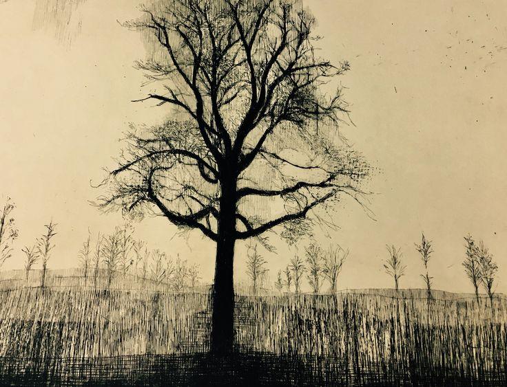 Katarina Vavrová - Sad tree